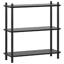 Harper 3 Tier Low Bookshelf