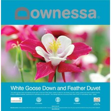 DowneSSa  White Goose Down  Feather Duvet