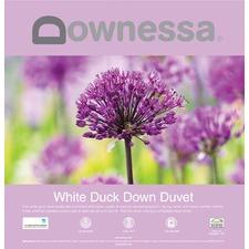Downessa White Duck Down Duvet