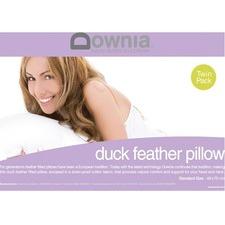 Duck Feather Standard Pillows (Set of 2)