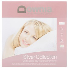 Silver Goose Down & Feather Duvet