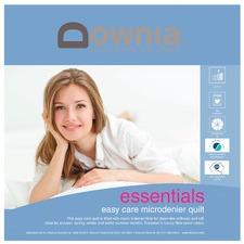 Essentials Easy Care Microdenier Duvet