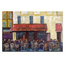 Cafe by Anna Blatman Wall Art