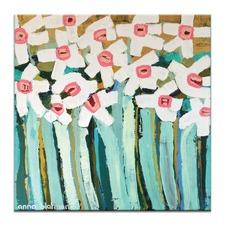 Daisies by Anna Blatman Wall Art