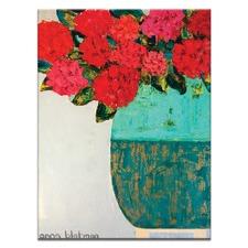 Red Geraniums by Anna Blatman Wall Art