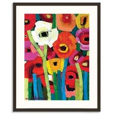 Annas Poppies Framed Wall Art