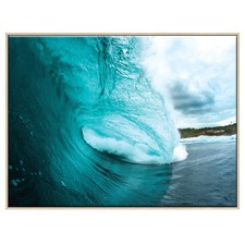 Turquoise Wave  Printed Wall Art