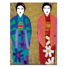 Akimi & Aki Printed Wall Art by Anna Blatman