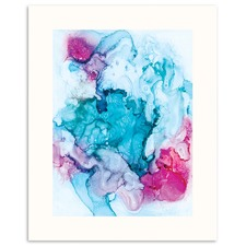 Candied Coral Printed Wall Art