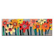 Kaye's Daisies Printed Wall Art by Anna Blatman