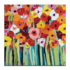 Julies Blooms by Anna Blatman Art Print on Canvas