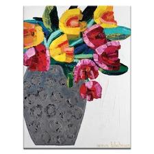 Tulips 3 by Anna Blatman Art Print on Canvas