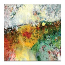 Encaustic Abstract 48 Canvas Wall Art