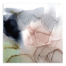 Blush Abstract Printed Wall Art by Fern Siebler