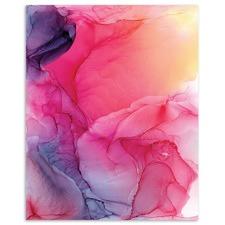 Pale Rose II Abstract Printed Wall Art by Fern Siebler