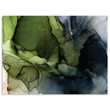 Crisp Abstract Printed Wall Art by Fern Siebler