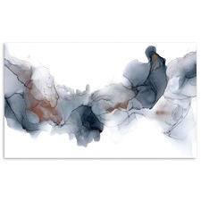 Fire & Ice Abstract Printed Wall Art by Fern Siebler