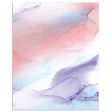 Hush II Abstract Printed Wall Art