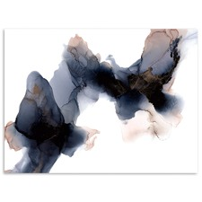 Last Kiss Abstract Printed Wall Art by Fern Siebler