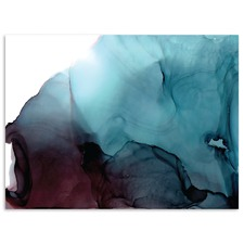 Wavelength Abstract Printed Wall Art by Fern Siebler