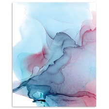 Whisper Abstract Printed Wall Art by Fern Siebler