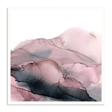 Blush Mountains Printed Wall Art by Fern Siebler