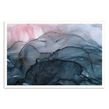 Moving Mountains Printed Wall Art by Fern Siebler