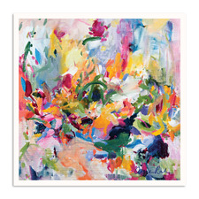 In The Springtime Printed Wall Art by Amira Rahim