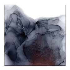 Hillside Abstract Printed Wall Art by Fern Siebler