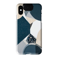 Blue Stone Basalt iPhone Case