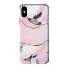 Pink Lake Esperance iPhone Case