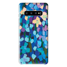 Mauve Flowers Samsung Phone Case by Anna Blatman