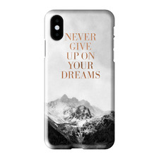 Never Give Up On Your Dreams iPhone Case