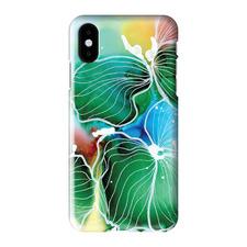 Inky Flower 5 iPhone Case