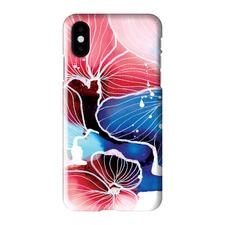 Inky Flower 6 iPhone Case