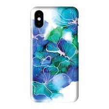 Inky Flower 12 iPhone Case
