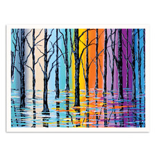 Forest Of Argyle Printed Wall Art by Steven Brown