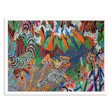 Jungle Printed Wall Art by Lia Porto
