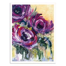 Fully In Bloom Printed Wall Art by Nikol Wikman
