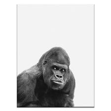Gorilla Printed Wall Art