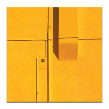 Yellow Printed Wall Art