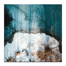 Frozen Water II Printed Wall Art