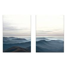 2 Piece Beyond Printed Wall Art Set