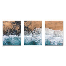 Point Break Printed Wall Art Triptych