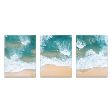 Perfect Sands Printed Wall Art Triptych