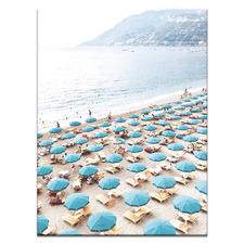 Italian Beach Club Printed Wall Art
