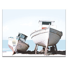 2 Boats Printed Wall Art