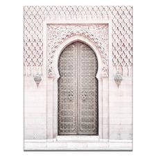 Moroccan Door III Printed Wall Art