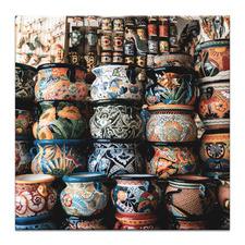 Mexican Pots Printed Wall Art
