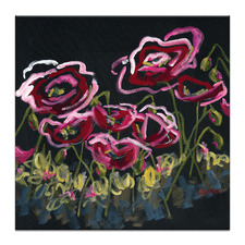 Poppis Are Red Printed Wall Art